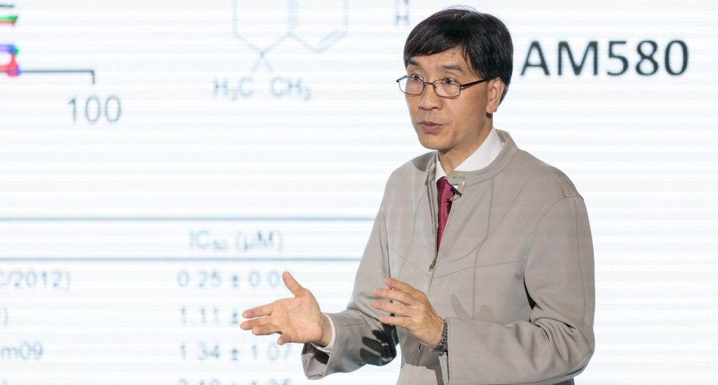 HKU's Professor Yuen Kwok-yung says his team is working on vaccine, having isolated virus from the city's first imported case