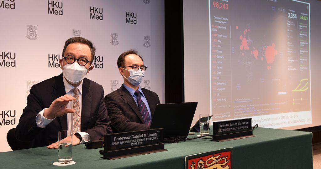University of Hong Kong faculty of medicine dean, Gabriel Leung