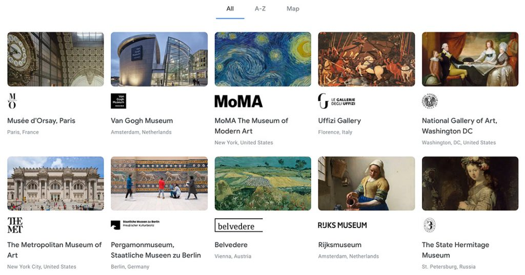 Free, online resources on arts, culture, for learning and entertainment