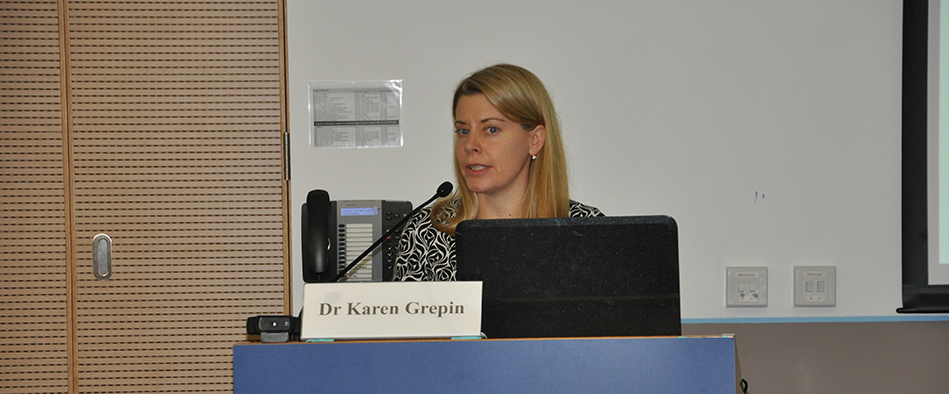 Karen A. Grépin Associate Professor at the School of Public Health at the University of Hong Kong