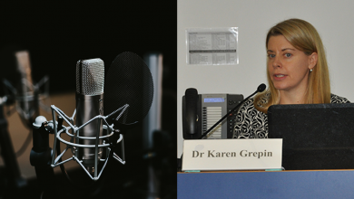 Photo of Podcast COVID19 with HKU | EP2: Coronavirus: Men vs Women with Dr Karen Grépin