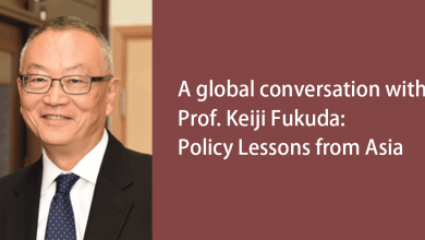 Photo of A global conversation with Prof. Keiji Fukuda: Policy Lessons from Asia