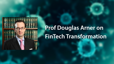 Photo of Prof Douglas Arner on FinTech Transformation