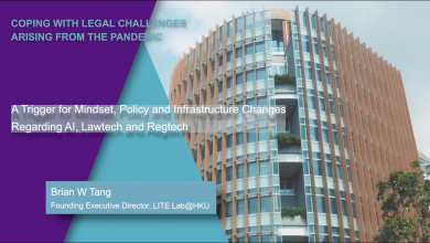 Photo of Coping with Legal Challenges Arising from the Pandemic: A HKU Webinar Series