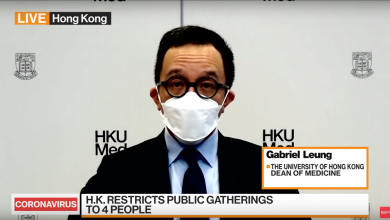 "Photo of Gabriel Leung speaks on ""Bloomberg Markets: Asia"""