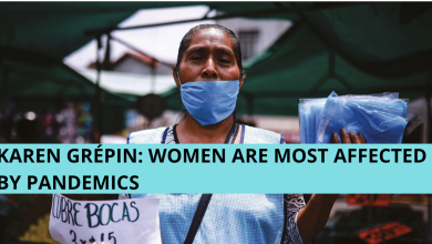 Photo of Karen Grépin: Women are most affected by pandemics