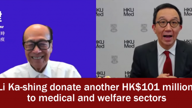 Photo of Hong Kong tycoon Li Ka-shing to donate another HK$101 million to medical and welfare sectors amid pandemic