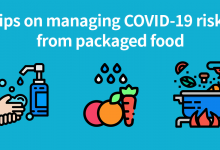 Photo of Tips on managing COVID-19 risks from packaged food