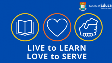 "Photo of HKU's ""LIVE to LEARN, LOVE to SERVE"" Campaign"