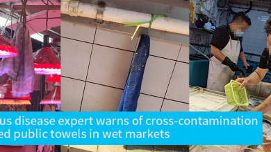 Photo of Infectious disease expert warns of cross-contamination by shared public towels in wet markets