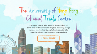 Photo of HKU Clinical Trials Centre launched online platform